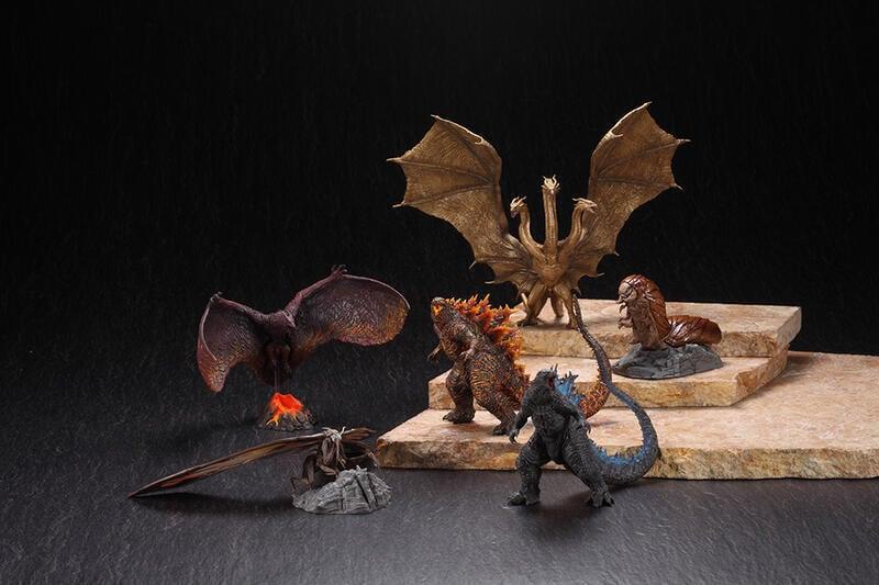 全新未拆 一中盒 全六種 ART SPIRITS 超激造系列盒玩  哥吉拉 2 怪獸之王 Godzilla 2019