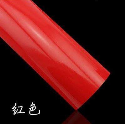 小膜女【亮光紅 貼膜】導氣槽 烤漆紅 光面紅 亮紅 高亮紅 卡夢 亞光紅 消光紅 計程車 taxi 3D4D碳纖維