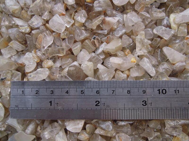 天然鈦晶碎石帶有天然鈦金屬--1000公克包裝區