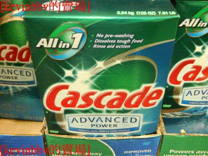 COSTCO好市多CASCADE洗碗機專用洗碗粉加強新配方3.54公斤