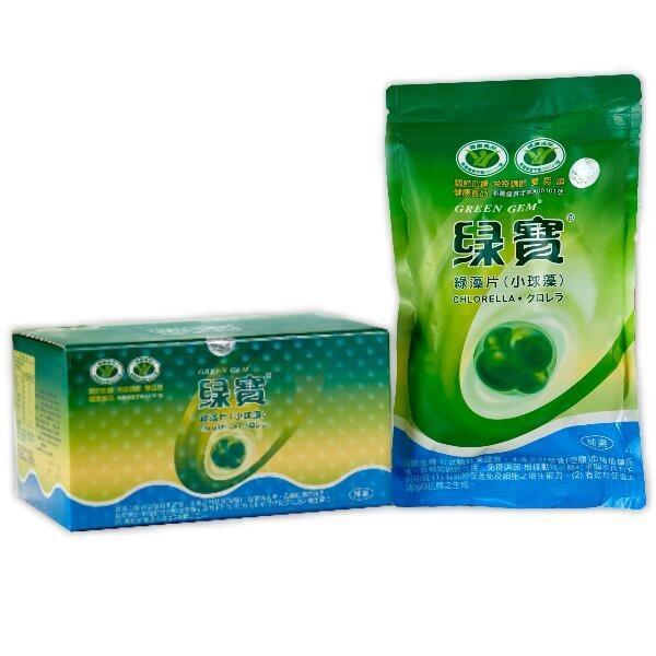 綠寶生技 綠寶綠藻片1000粒/包~920元(一次4包3600元免運)
