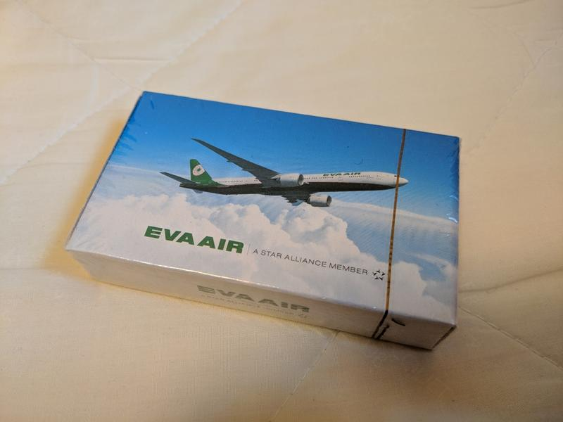 EVA AIR 長榮航空 撲克牌 playing cards 777-300ER 新塗裝