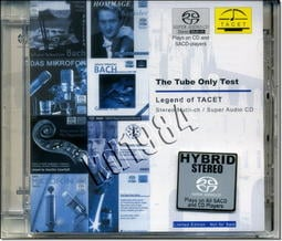 【SACD】TACET 測試片 The Tube Only Test  //全新商品//C43