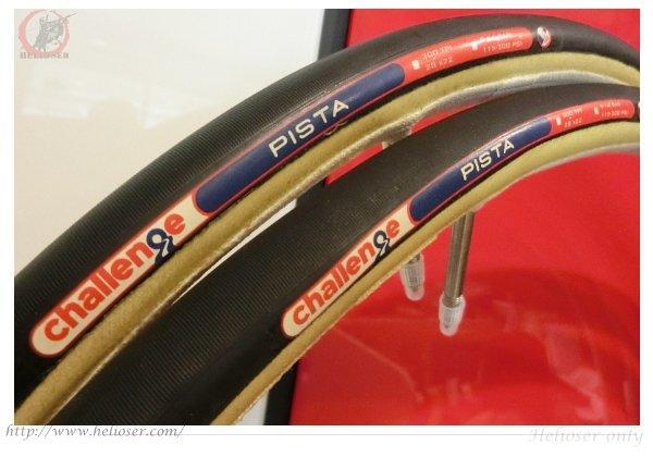 [ 特價 ] 義大利 Challenge Tires:PISTA Track管胎( 300 TPI )復古 / 膚邊