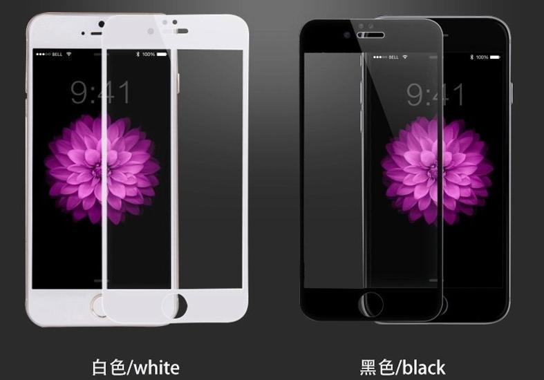 【黑白彩膜】蘋果 iPhone5 5S Iphone 5 5C SE 弧邊 鋼化玻璃貼 玻璃 保護貼 鋼化膜 玻璃膜