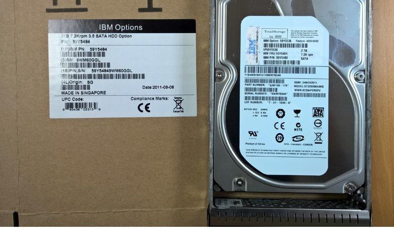 IBM 2TB DS4700硬碟(59Y5480)