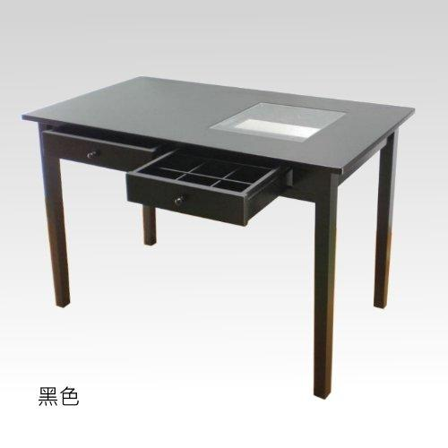 北海道居家生活館~日式小物傢俱/5色115雙抽9宫格CD和室桌/書桌/桌子/茶几/電腦桌