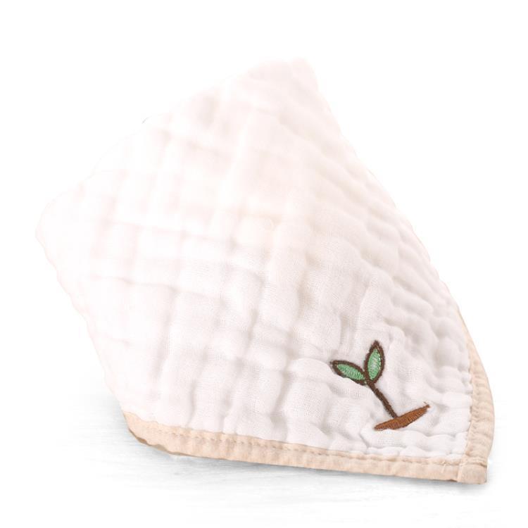 口水巾三角巾嬰兒純棉紗布按扣寶寶頭巾1到2歲新生兒兒童圍嘴圍巾 一級棒-可開發票 免運Al