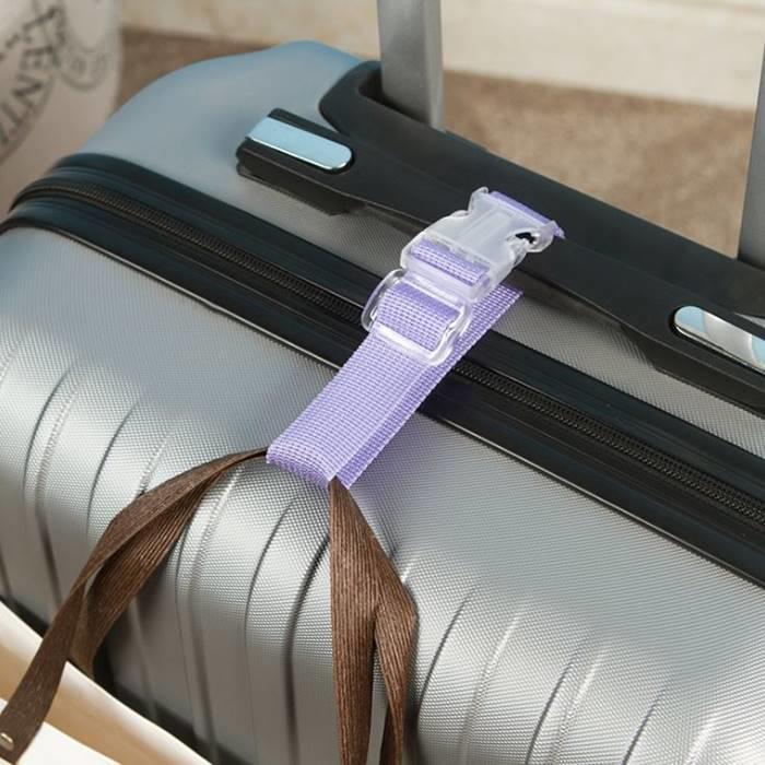 [Hare.D]旅行箱延伸扣帶 行李箱掛扣 萬用掛扣 多功能萬用綁帶 行李束帶 捆帶 加固 旅行必備 便攜 省力 單扣