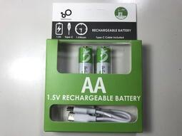 免運AA充電鋰電池Size AA (R6NT(R6P-UM-3NT)五號乾電池1.5V) 遙控器玩具電動遊戲機Type