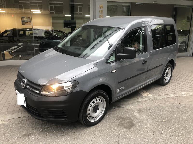 2019年 VW  CADDY  VAN  1.4 TSI   短軸 自排 貨車版