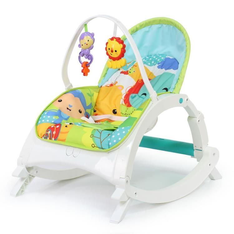 999小舖孩子嬰兒搖搖椅安撫椅寶寶電動按摩搖籃床新生兒帶娃睡