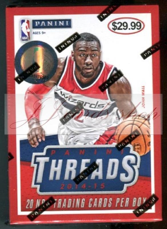 【☆ JJ卡舖 ☆】NBA 2014-15 Panini Threads Blaster 美國通路獨賣版 籃球卡 卡盒