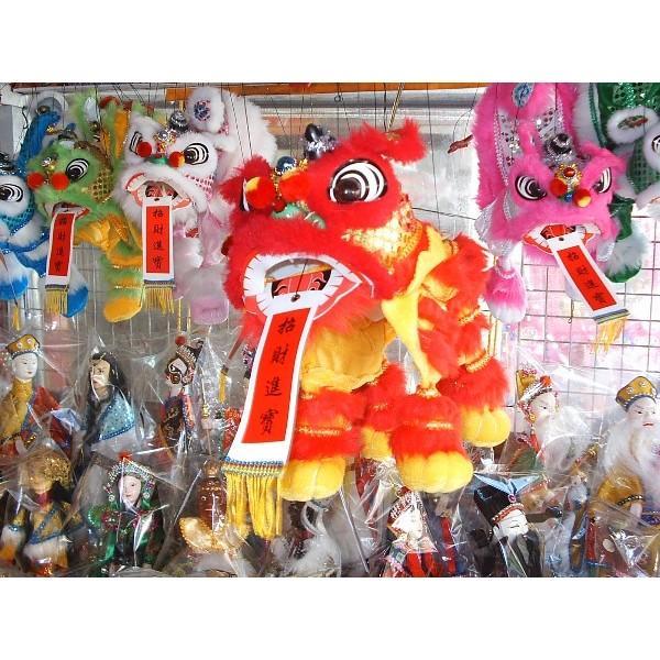 [現貨]吉祥提線獅[8款]童玩流行新款送禮收藏過年益智玩具