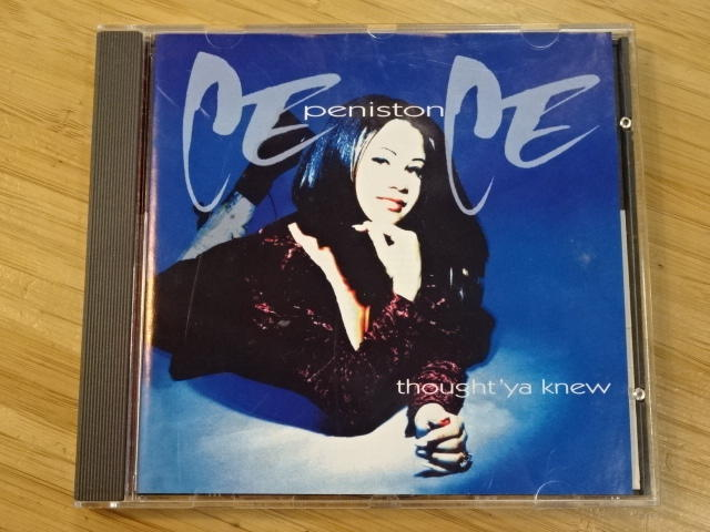 《啟元唱片》西西潘妮絲頓 [R&B] CECE PENISTON 相信我 THOUGHT 'YA KNEW 德國版 有側