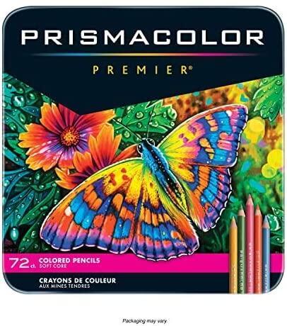 [現貨]新品優惠 美國 Prismacolor Premier 36色 72色 頂級油性色鉛筆 軟芯 全新包裝 鐵盒