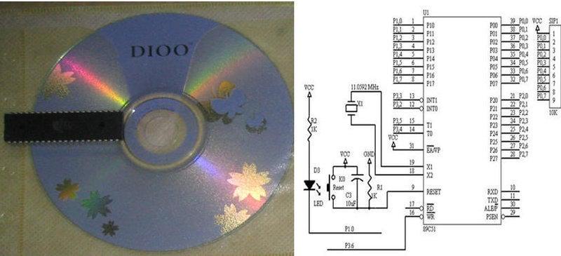 [偉克多 8051 專題製作][低價套件--零件包]:IRD_S 紅外線遙控解碼學習模組---  8051 紅外線遙控器  解碼程式設計