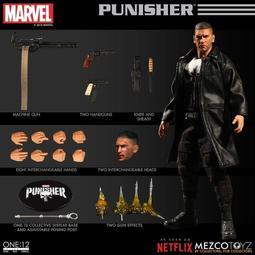MZ0005【挖寶玩具】結單 美版 MEZCO ONE:12  制裁者 懲罰者 Netflix  非復仇者 滅霸