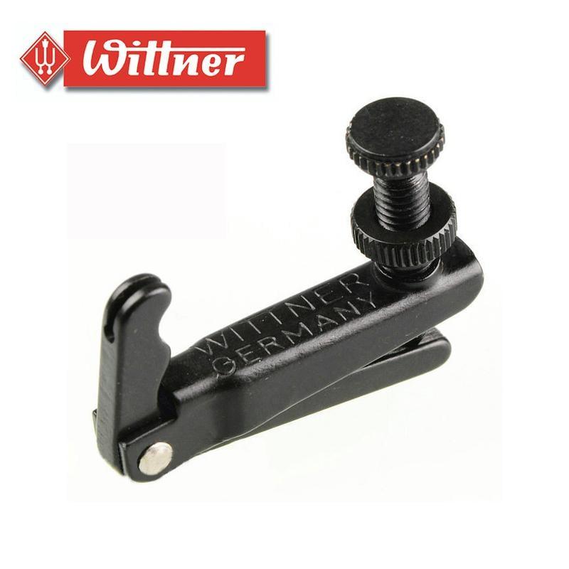 【現代樂器】現貨!德國Wittner 9023 小提琴微調器 黑色款 適用3/4 4/4 全琴