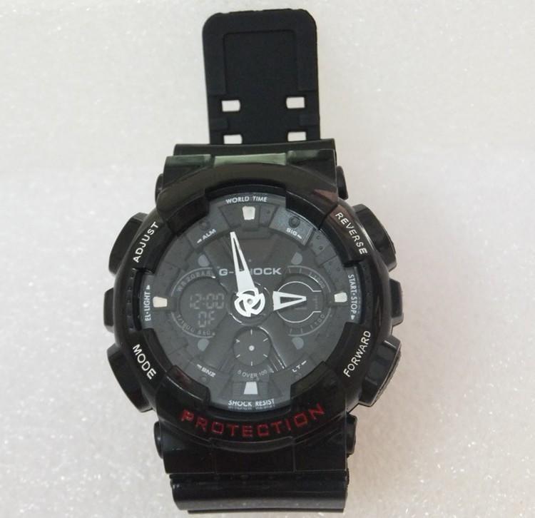 卡西歐 防水 運動手錶  G-SHOCK GA-110GB-1A CASIO 美國隊長 鋼鐵人 防震