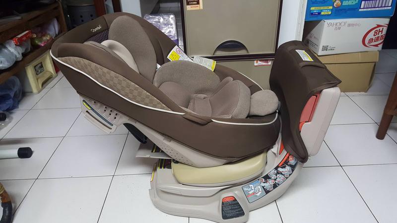 【頂級】(汽車安全座椅)COMBI LUXTIA TURN 汽車安全座椅(二手)
