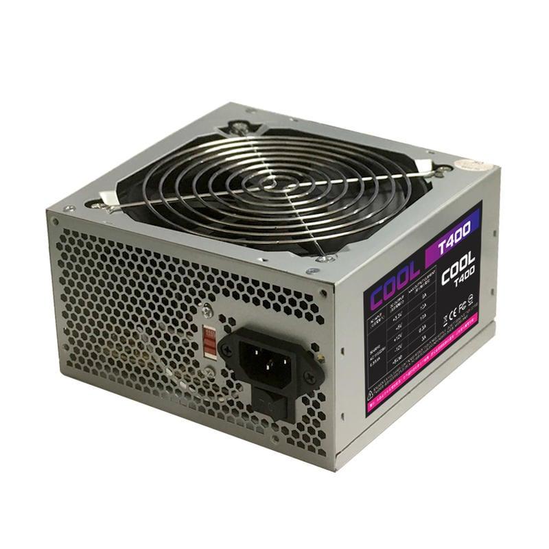 新品上市 COOL-T400 400W 電源供應器 POWER 超靜音 安規認證 電腦電源 一年保固