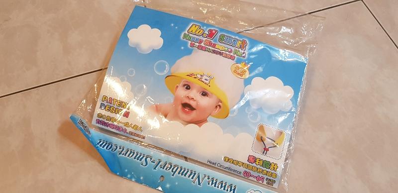 嬰兒 洗頭帽子 不流淚