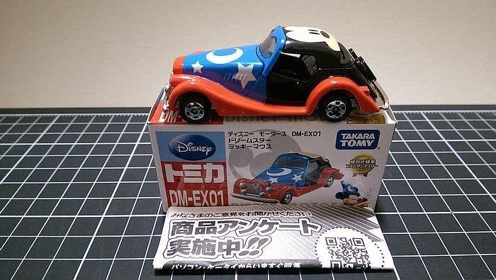 TAKARA TOMY TOMICA DM-EX01 DISNEY 迪士尼 米奇魔法老爺車 現貨 絕版
