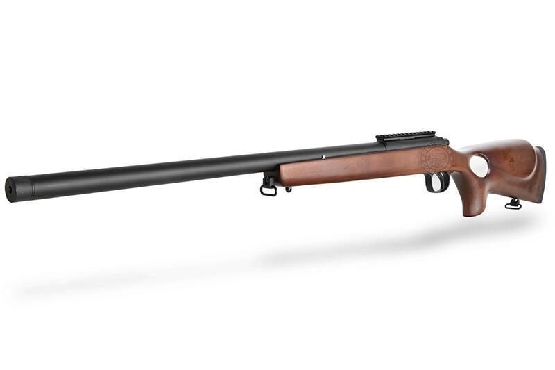 2館 BELL VSR 10 狙擊槍 手拉 空氣槍 實木 奧運版 ( MARUI規格BB槍BB彈玩具槍長槍模型槍步槍