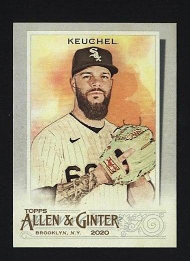 2020 Topps Allen and Ginter #179 Dallas Keuchel - Chicago White Sox