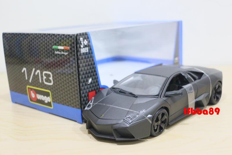 Bburago 1/18 Lamborghini Reventon 藍寶基尼 消光灰