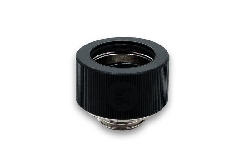 【肯瑞PC特裝】EKWB EK-HDC Fitting 16mm G1/4 硬管接頭 水冷 黑色