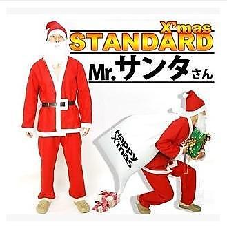 318百貨-圣誕裝 圣誕老人圣誕老人服裝圣誕老人套裝 絨布圣誕裝成人男款