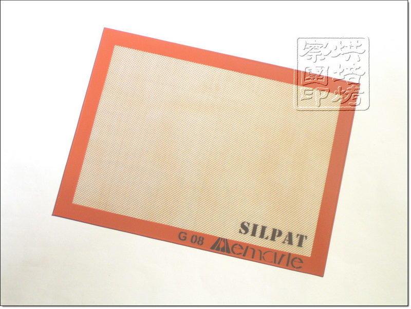 【烘培烤察團】法國SILPAT矽利康不沾烘焙烤盤墊_半盤30×40公分_裸裝出貨