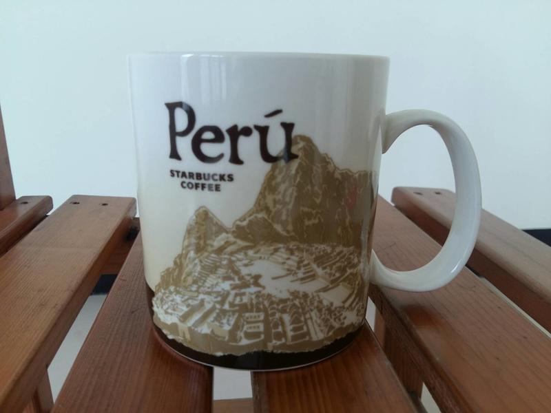 星巴克城市馬克杯(墨西哥,秘魯)
