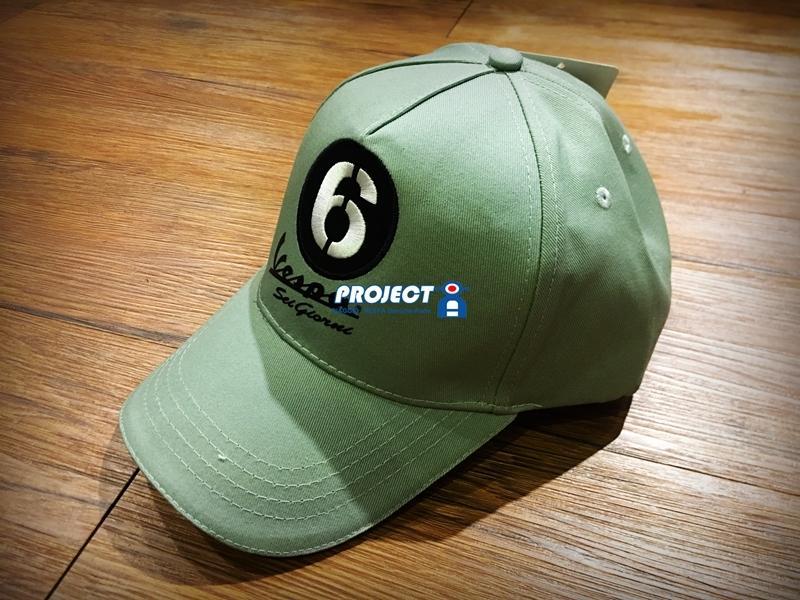 【ProjectA】VESPA 6 GIORNI 全新系列 棒球帽 GTV