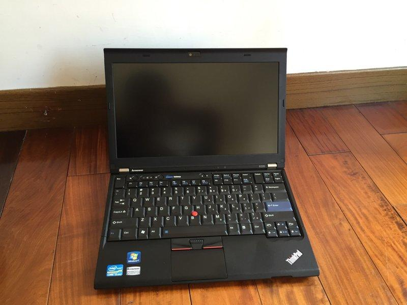 史上最強最破盤 IBM lenovo ThinkPad x220  ips 面板CPU i5 16G 480G SSD