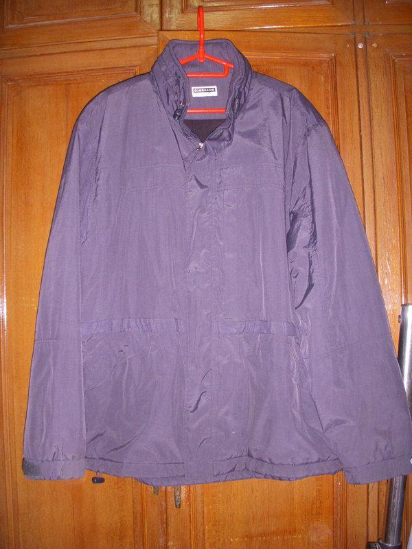 男款 GIORDANO 黑灰色 保暖外套 長大衣 L號  帽子收合在衣領處  連帽外套