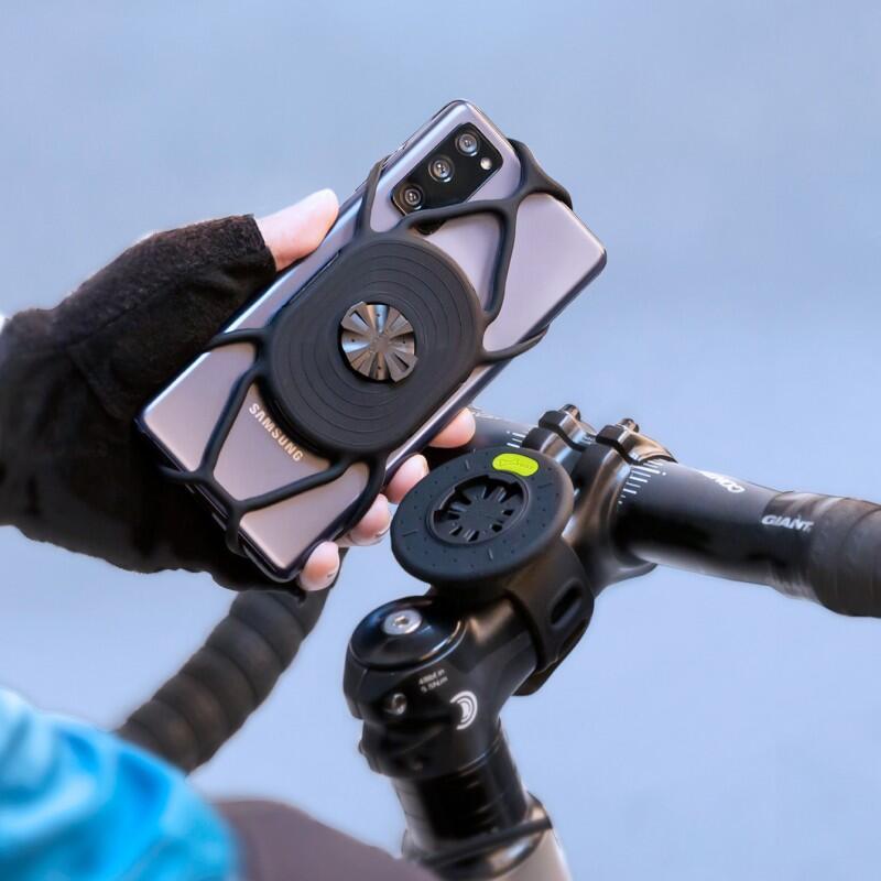全新 公司貨 BONE Tie Connect 單車手機綁 自行車快拆手機架兼容於自行車錶之固定座 手機可旋轉使用