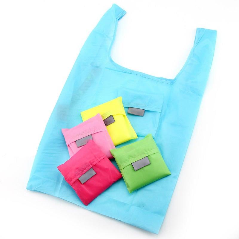 【小方包購物袋】日系折疊環保袋 手提袋 收納袋☆精品社