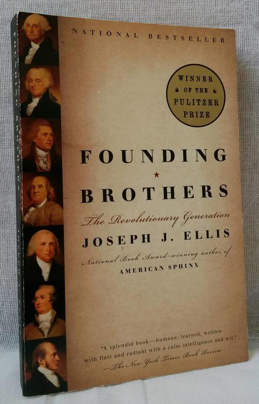 【吉兒圖書】預售《Founding Brothers》那一代:可敬的開國元勛  獲得 2001 年普利茲歷史獎