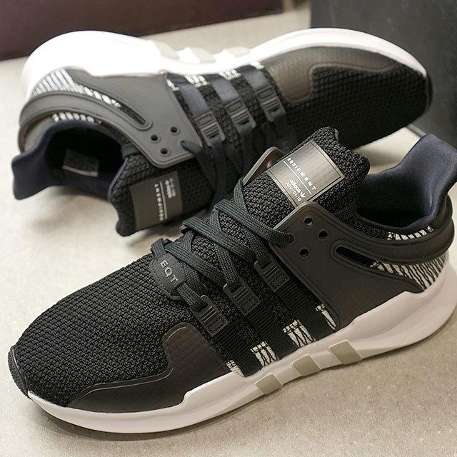 purchase cheap 3ed92 af369 【RS只賣正品】ADIDAS EQT Support ADV 黑白 灰 編織 線條 網布 襪套 男女慢跑鞋 BY9585