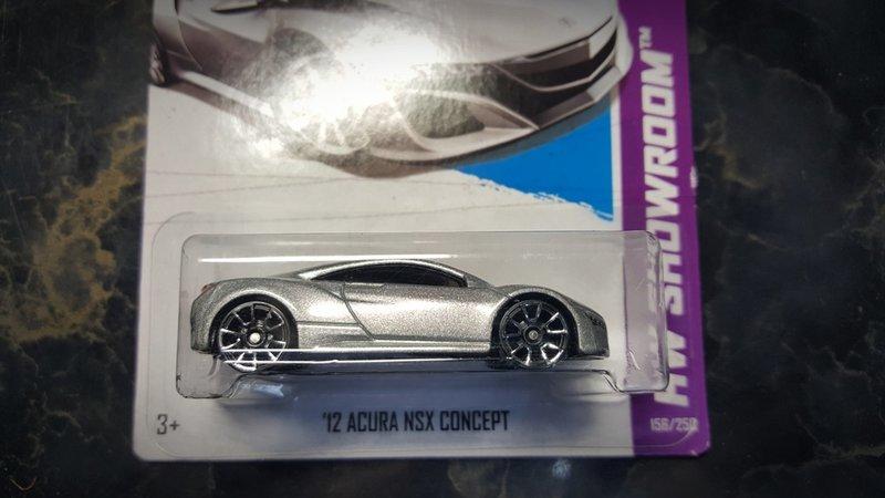 出售 - Hot wheels 風火輪 '12 Acura NSX Concept HW showroom