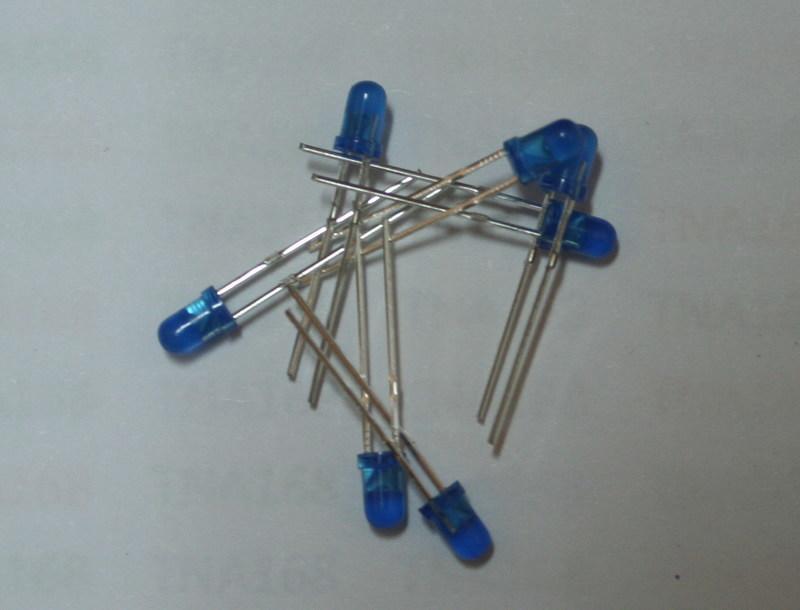 【TNA168賣場】 3MM 藍發藍 (1元2個) 高亮 發光管 LED 發光二極體