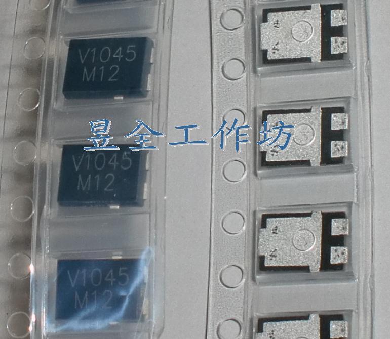 蕭特基二極体 (VISHAY V10P45-M3 ) TO-277A 45V 10A VF<0.57V