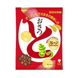 【小食代】日本UHA味覺糖甘薯片 60g原味/鹽奶油味