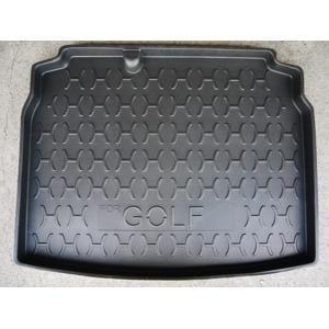 福斯VW  GOLF   3D立體防水後廂專用托盤