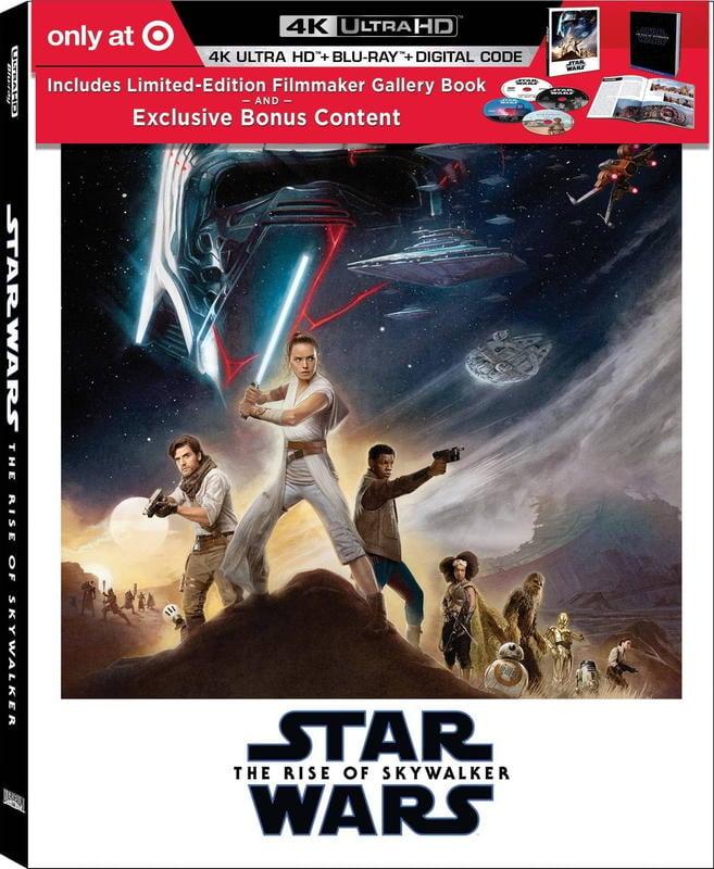 [藍光讚](預購免運費)美版STAR WARS:天行者的崛起4K UHD+2D藍光3碟圖冊(英文字幕),預定4/30到貨