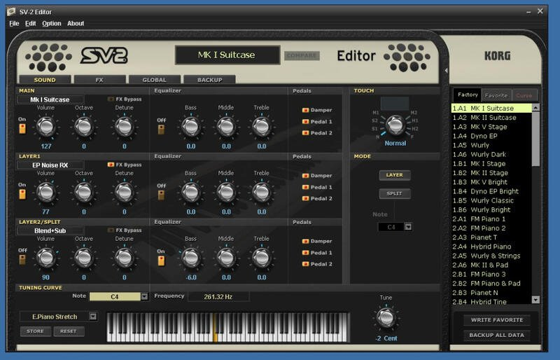 【金聲樂器】KORG SV-2 88鍵 專業舞台鋼琴 另有 73 以及 S版本 SV2 SV2S