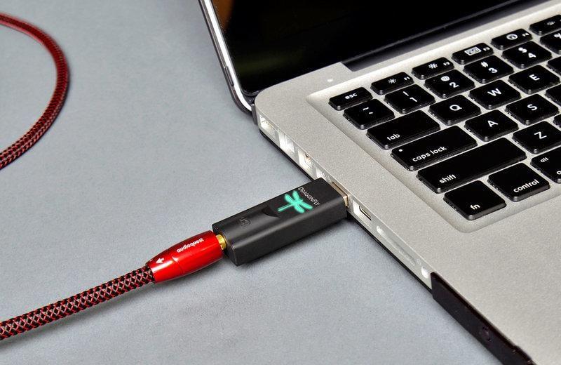 『永翊音響』美國 audioquest Dragonfly v1.5 黑蜻蜓 USB DAC數位耳機擴大機~公司貨